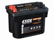 battery 12v 50ah exide start agm em1000 special