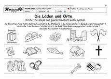 free german worksheets ks3 19670 german ks2 level 3 ks3 year 7 shops and places by maskaradelanguages teaching resources