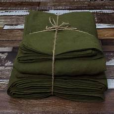 seamless linen sheets green olive fits single to king beds linenshed