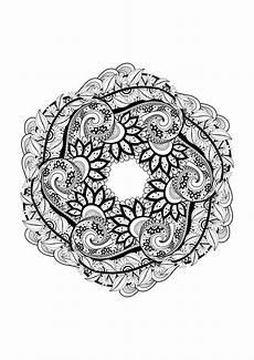 Mandala à Imprimer Pour Adulte Mandala 1 Mandalas Coloriages Difficiles Pour Adultes
