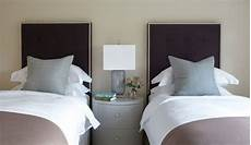 2 Bed Bedroom Ideas by Guest Bedroom Design Ideas Two Beds Neutral Home