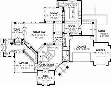 house plans for hillsides spacious hillside craftsman home plan 69274am