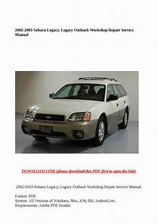 download car manuals 2010 subaru legacy engine control 2002 2003 subaru legacy legacy outback workshop repair service manual by steve issuu