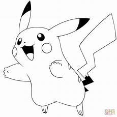 Malvorlagen Pikachu Pok 233 Mon Go Pikachu 025 Coloring Page Free Printable