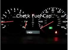 Honda Check Fuel Cap ACCORD 2007   YouTube