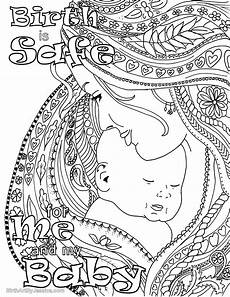 birth affirmation coloring page free printable birth is