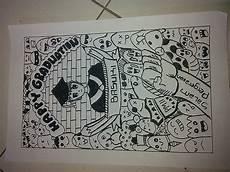 Doodle Wisuda Mudah Wallpaper