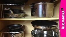 p0tzxs how to organize pots pans lids in the kitchen