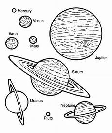 Gambar Mewarnai Planet Untuk Anak Paud Dan Tk