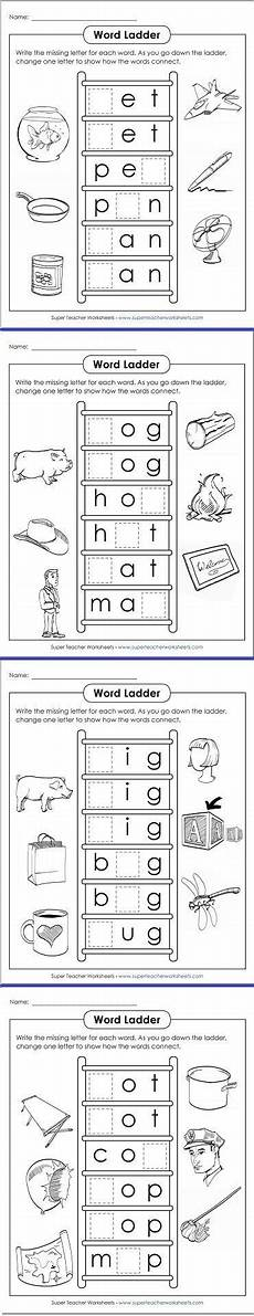 take a at these fun word ladders for phonics practice kindy literacy pinterest word