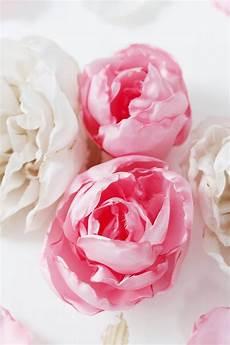 Blumen Aus Stoff Basteln - stoffblumen selber machen kreative diy anleitung