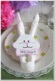 Easter Bunny Napkin Ring Template In My Own Style