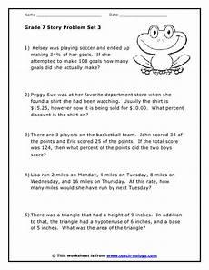 grade 7 word problems 3