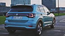 2019 volkswagen t cross interior exterior and drive