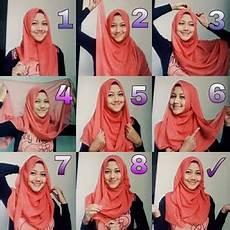 Cara Memakai Jilbab Segi Empat Untuk Sekolah Model Jilbab