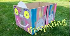 Wo Bekommt Große Kartons - upcycling wir basteln uns ein auto aus einem karton