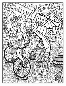 circus free colouring pages