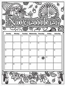 November Malvorlagen Novel November 2019 Calendar Calendar 2019