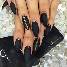 50 sassy black nail art designs to add spark to your bold look