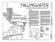 frank lloyd wright waterfall house plans frank lloyd wright fallingwater house drawings plan book