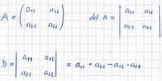 determinante berechnen