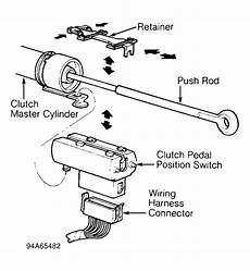 clutch safety switch wiring diagram 1994 3 0 2wd manual vs auto pcm wiring the ranger station