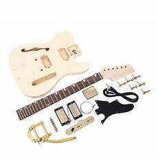 tele guitar kit telecaster thinline style guitar kit diy guitars