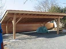 abri de voiture bois abri voiture charpente traditionnelle en kit garage
