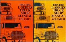 free auto repair manuals 2012 ford e350 lane departure warning 1983 1985 ford l series truck repair shop manual ln lt lns ltl lts 600 9000