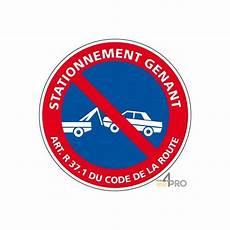 article code de la route panneau rond stationnement g 234 nant article r 37 du code de