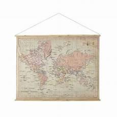 maisons du monde d 233 co murale imprim 233 carte du monde