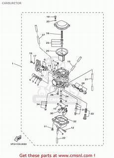 yamaha ttr225 ttr225c 2003 3 usa california carburetor schematic partsfiche