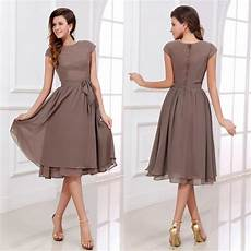2017 summer mother of the bride dresses short groom brown cheap chiffon custom any color free