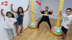 kids inflatable limbo challenge 2 family fun vlog video youtube