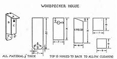 woodpecker bird house plans pin on birds