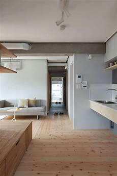 japanese minimalist home two apartments in modern minimalist japanese style