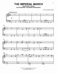 the imperial march darth vader s theme sheet music by williams easy piano 94596