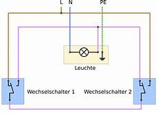 wechselschaltung 2 schalter 2 len wiring diagram