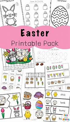 easter activities for toddlers and preschool printables fun with