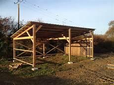 plan abris bois abris 224 chevaux nantes plans bois
