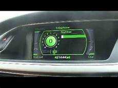 how to pair mobile phone via bluetooth in audi a4 a5 a6 youtube