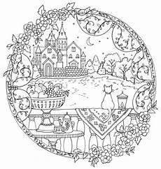 coloring page mandala malvorlagen kostenlose