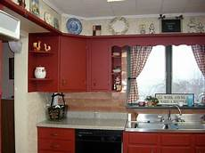 i like the idea of painting kitchen cabinets a brick