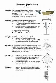 volumenberechnung mit dichte volumen berechnen und masse