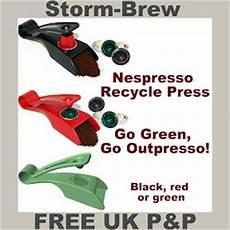 Nespresso Coffee Capsule Recycle Press Recycling Machine
