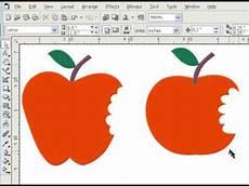 Cara Membuat Gambar Apel Dengan Coreldraw