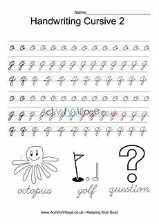 alphabet handwriting worksheets uk 21603 handwriting practice cursive 2