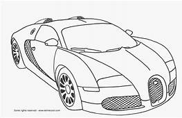 Race Car Coloring Page & Book For Kids
