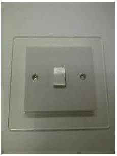 acrylic finger plates light switch surrounds switch plate cover wall protector ebay