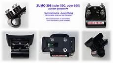 Zumo 396 Motorrad Halterung Navi Gps Sonnenblende